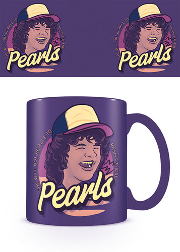 Stranger Things Taza Dustin Pearls