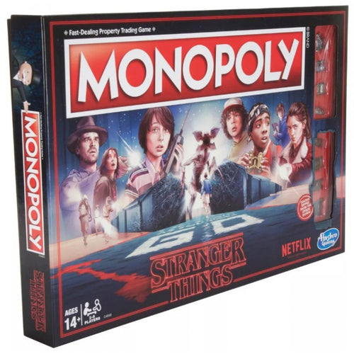 Stranger Things Monopoly (Edicion Castellano)