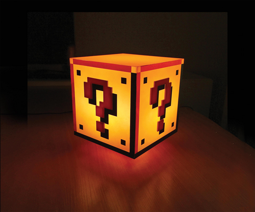 Super Mario Bros. Lámpara Question Block