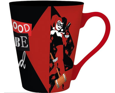 Harley Quinn Taza It's Good To Be Bad