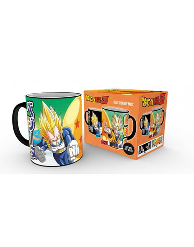 Dragon Ball Taza Térmica Saiyans