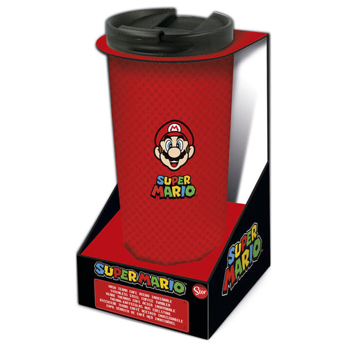 Nintendo Vaso Cafe acero inoxidable Super Mario Bros