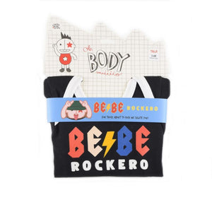 Body Bebe Rockero Manga Larga