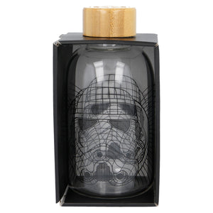 Star Wars Botella Cristal Stormtrooper 620 ml