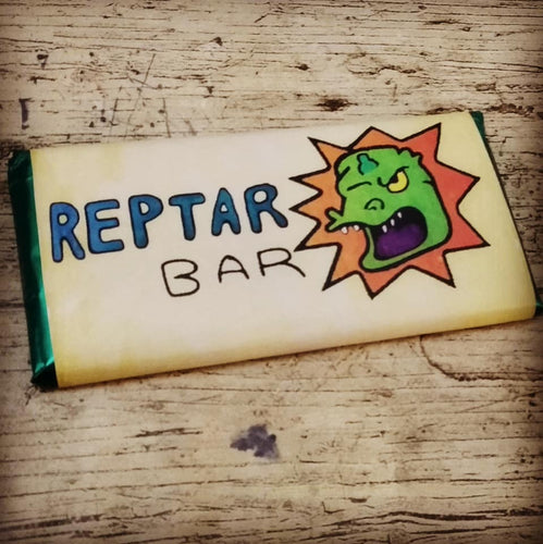 Rugrats Tableta de Chocolate Reptar