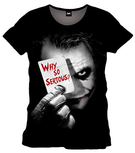 DC Comics Camiseta Joker Why So Serius