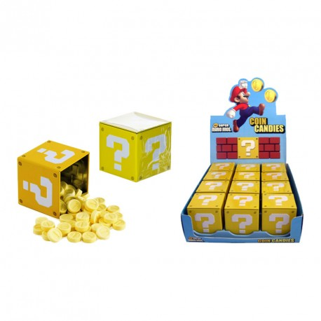 Super Mario Caja Caramelos Question Block