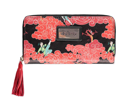 Mulan Cartera Loungefly Zip Around
