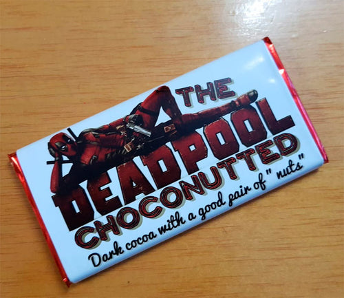 Deadpool Tableta de Chocolate Choconutted