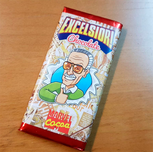 Marvel Comics Tableta de Chocolate Stan Lee