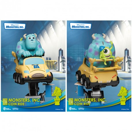 Monster Inc. Diorama PVC D-Stage Sully & Mike