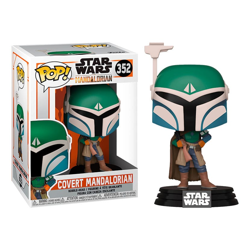 Star Wars Mandalorian POP! Vinyl Covert Mandalorian