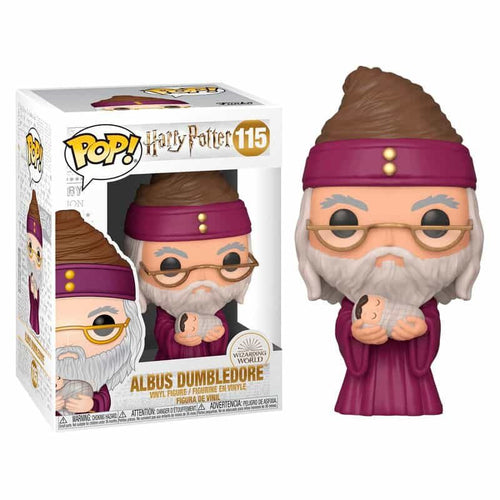 Harry Potter POP! Vinyl Dumbledore with Baby Harry