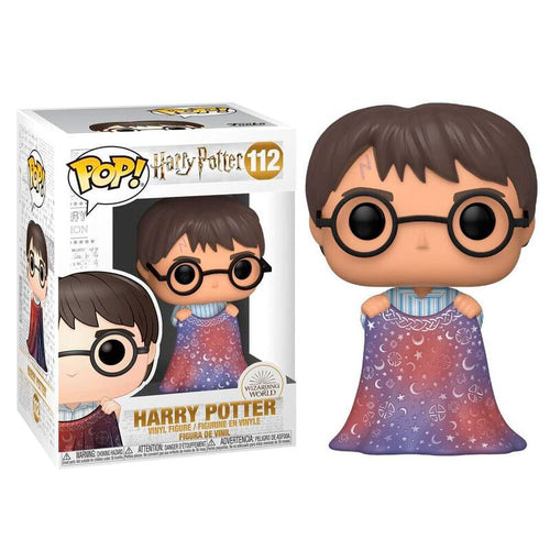 Harry Potter POP! Vinyl Harry with Invisibility Cloak