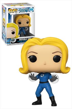 Marvel Comics Fantastic Four POP! Vinyl Invisible Girl