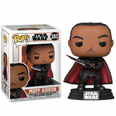 Star Wars Mandalorian POP! Vinyl Moff Gideon with Darksaber