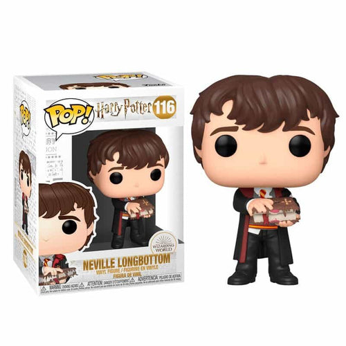 Harry Potter POP! Vinyl Neville with Monster Book