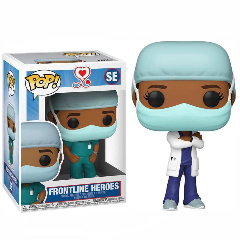 Copia de Frontline POP! Vinyl Worker Female 2