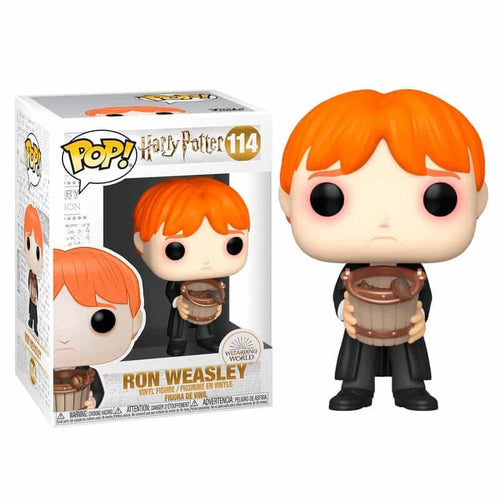 Harry Potter POP! Vinyl Ron Puking Slugs with Bucket