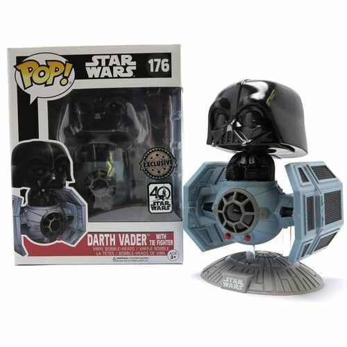 Star Wars Episode IV New Hope POP! Darth Vader in Tie Figther