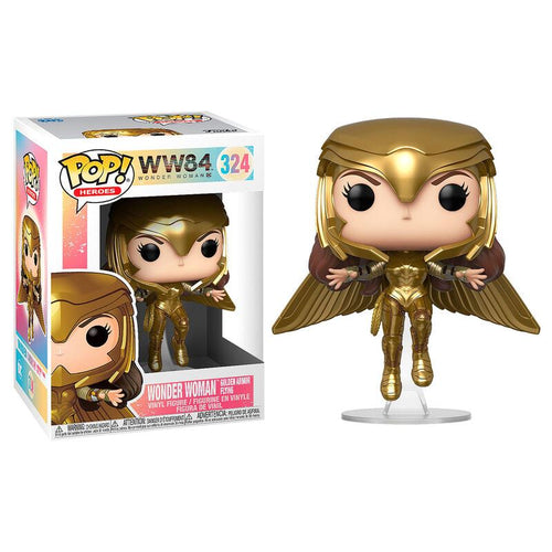 Wonder Woman 84 POP! Vinyl Wonder Woman Gold Flying Pose
