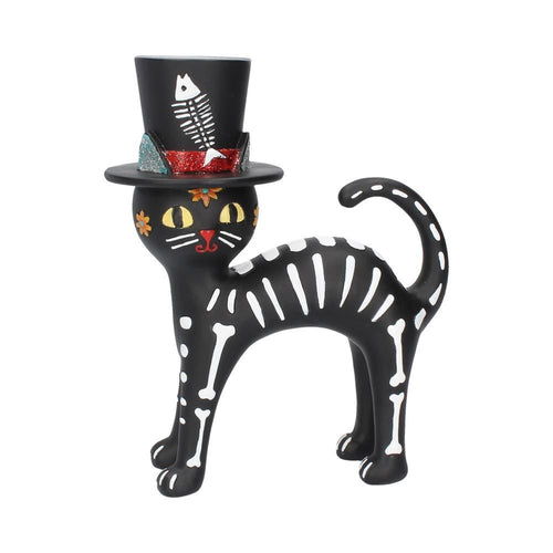 Day of the Dead Gato con Sombrero El Almacen Secreto 1