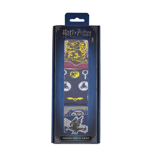 Harry Potter Pack de Calcetines Snitch Dorada