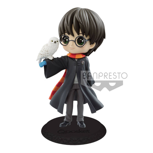Harry Potter Figura Bandai q-Posket Harry con Hedwig disponible en El Almacen Secreto