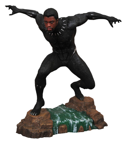 Black Panther Marvel Movie Gallery Estatua Black Panther Unmasked