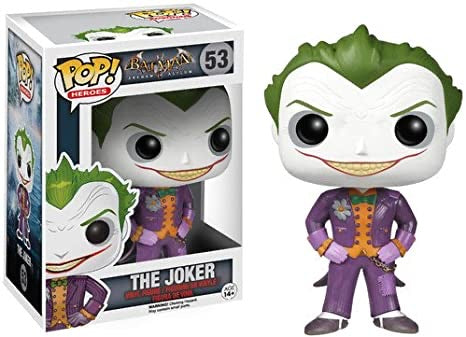 DC Arkham Asylum POP! Vinyl The Joker