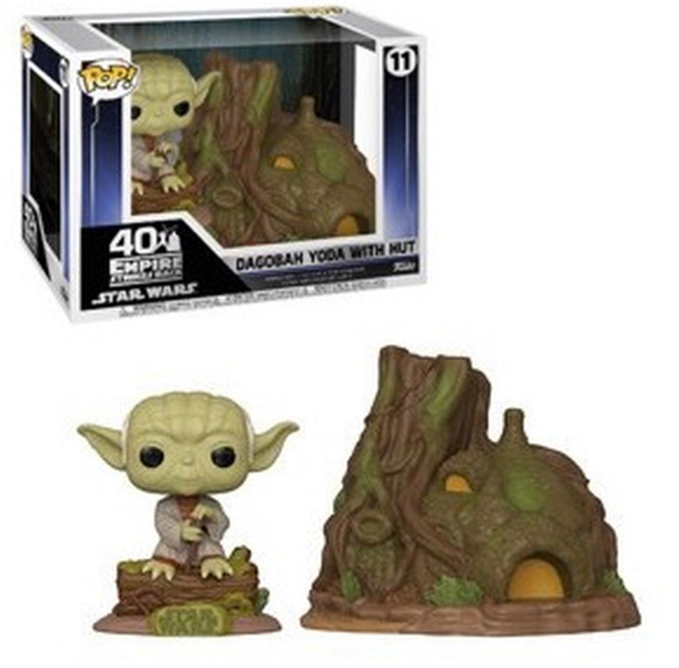 Star Wars Episode V Empire Strikes Back POP! Town Dagobah Yoda's with Hut