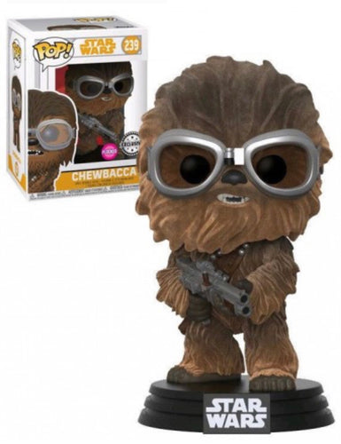 Star Wars SOLO POP! Chewbacca Flocked