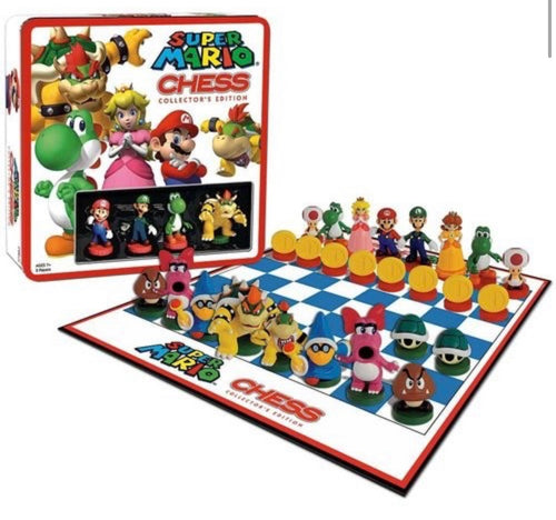 Ajedrez Super Mario Bross Collector Edition