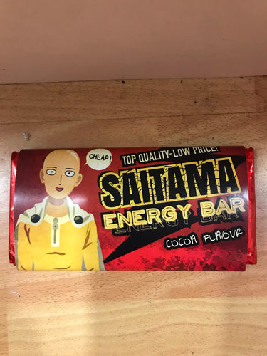 One Punch Man Tableta Chocolate Saitama Energy Bar