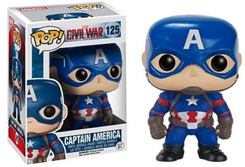 Captain America Civil War POP! Vinyl Captain America
