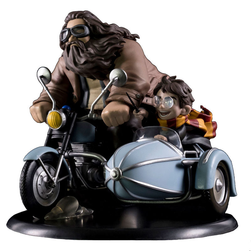 Harry Potter Diorama Q-Fig MAX Harry Potter & Rubeus Hagrid
