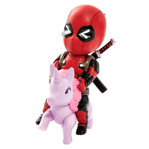 Marvel Comics Figura Mini Egg Attack Deadpool Unicornio