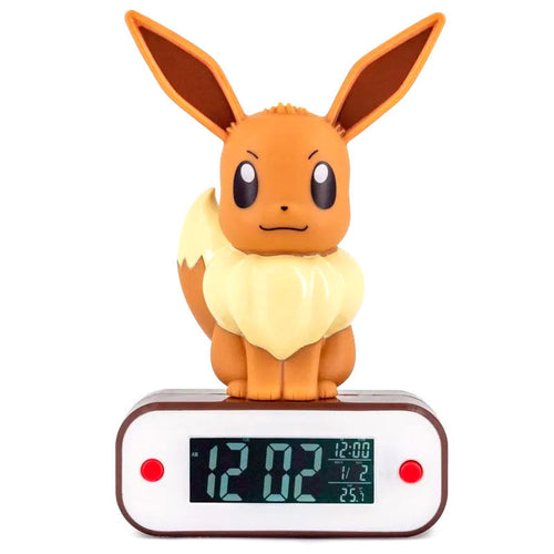Pokemon Lampara despertador Led Eevee
