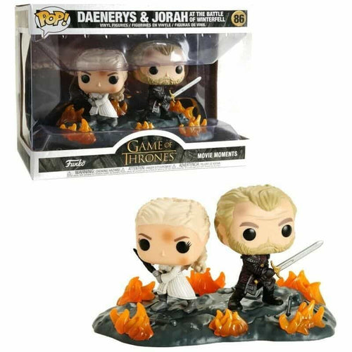 Juego de Tronos Movie Moment POP! Vinyl Daenerys & Jorah Mormont