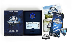 Jurassic World Caja Coleccionista Welcome  Kit
