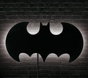 DC Comics Lampara Pared o Escritorio Batman Logo
