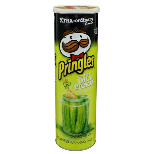 Pringles Patatas Xtra Screamin' Dill Pickles