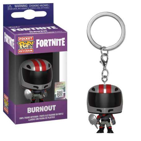 Fortnite Pocket POP! Vinyl Keychan Burnout