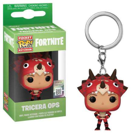 Fortnite Pocket POP! Vinyl Keychan Tricera Ops