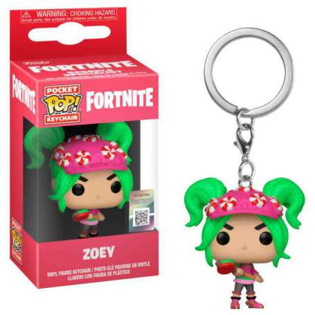 Fortnite Pocket POP! Vinyl Keychan Zoey