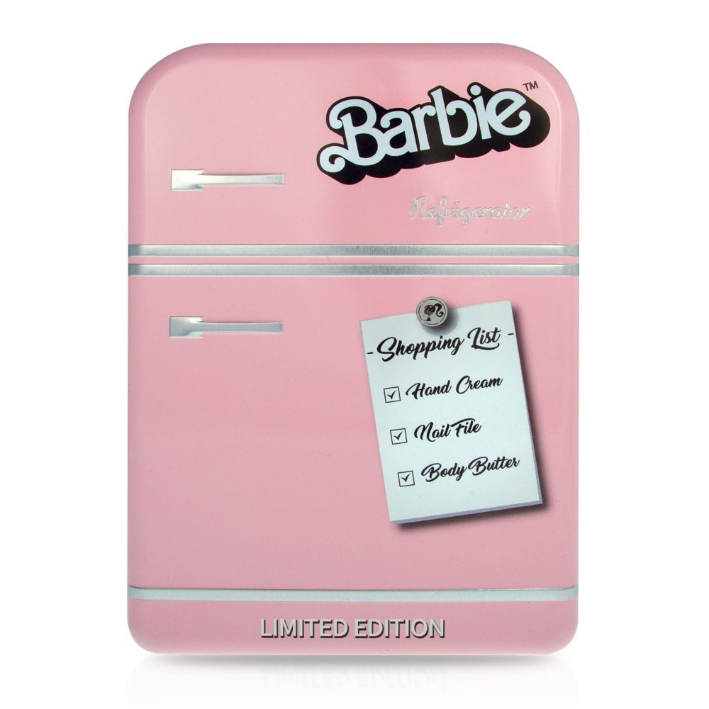Mad Beauty Barbie Limited Edition Set Regalo Lata Nevera