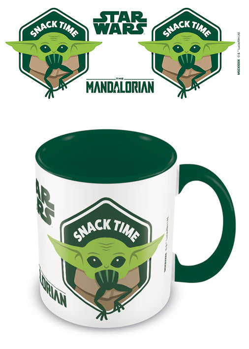 The Mandalorian Taza Snack Time Baby Yoda