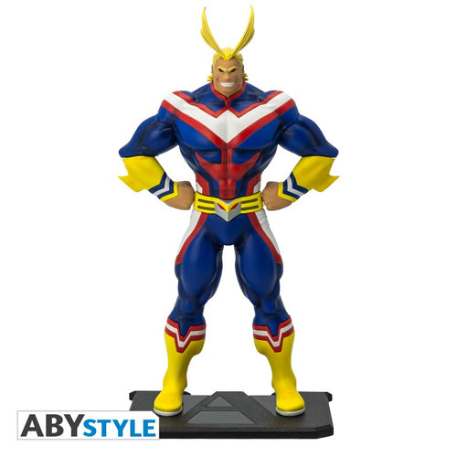 Figura All Might My Hero Academia El Almacen Secreto Vista Frontal