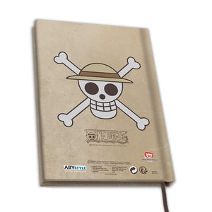 One Piece Cuaderno A5 Wanted Luffy