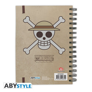 One Piece Cuaderno Wanted Luffy